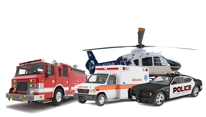 Fire & Rescue, EMS, Law Enforcement